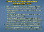 definition of responsiveness to intervention rti