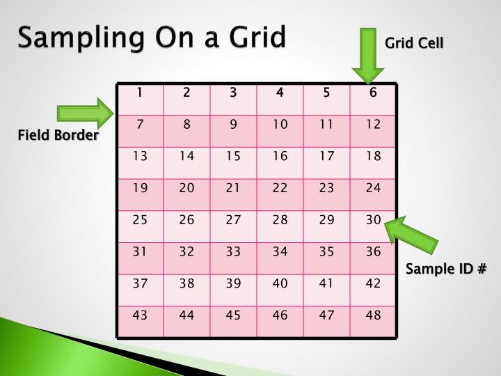 Sampling On a Grid