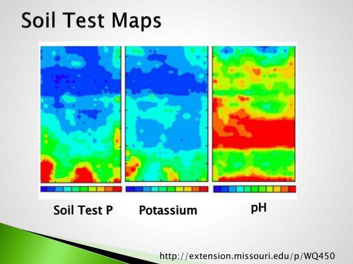 Soil Test Maps