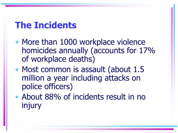 The Incidents