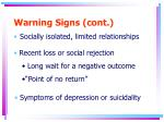 warning signs cont4