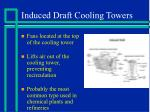 induced draft cooling towers