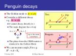 penguin decays
