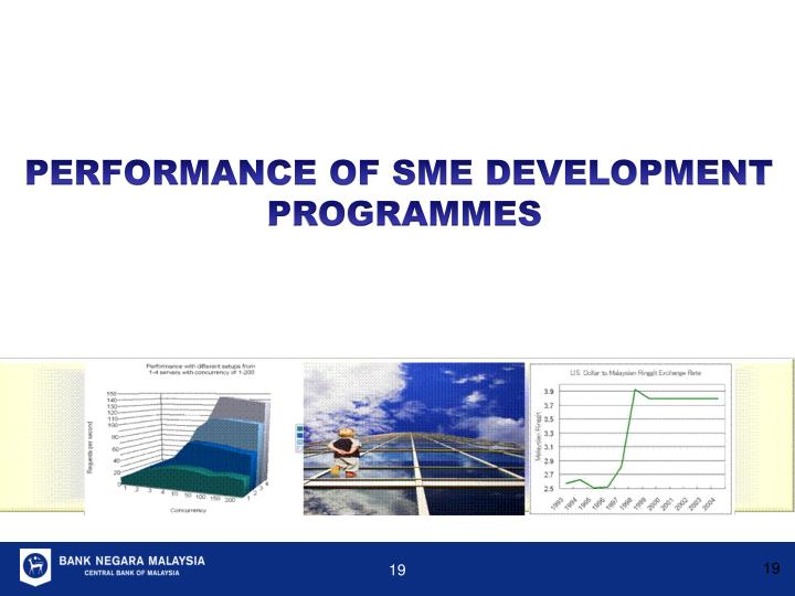 PERFORMANCE OF SME DEVELOPMENT