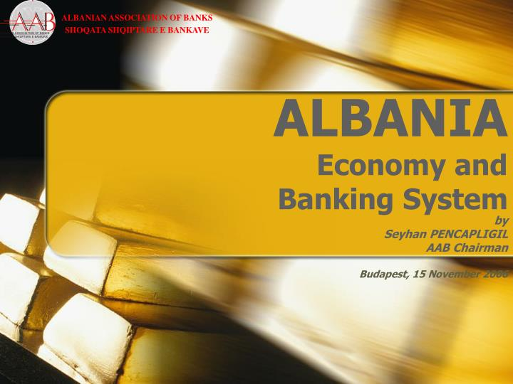 Albania economy and banking system