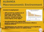 albania macroeconomic environment3