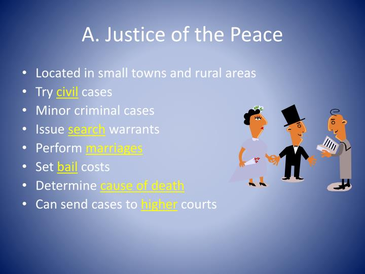 A. Justice of the Peace