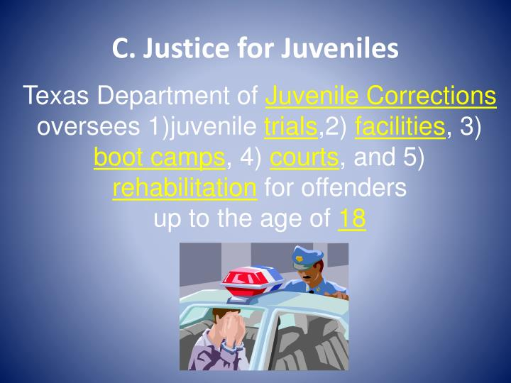 C. Justice for Juveniles
