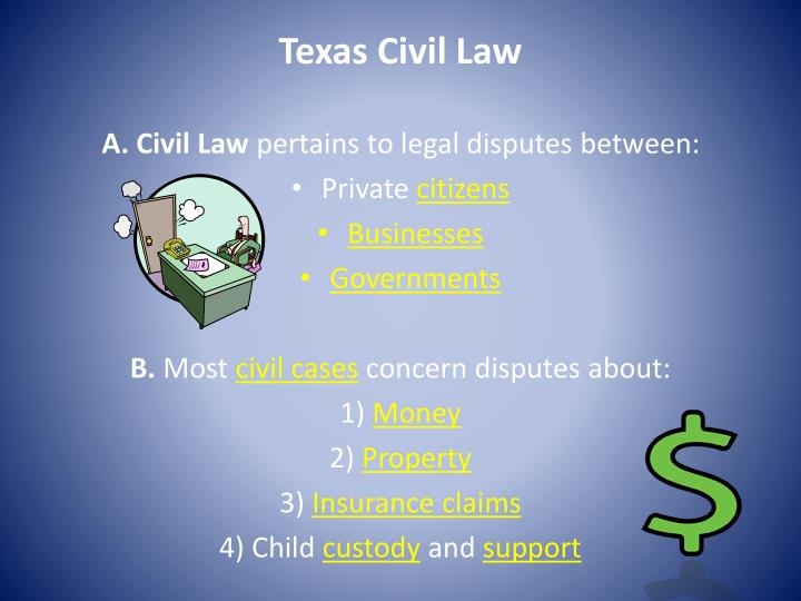 Texas Civil Law