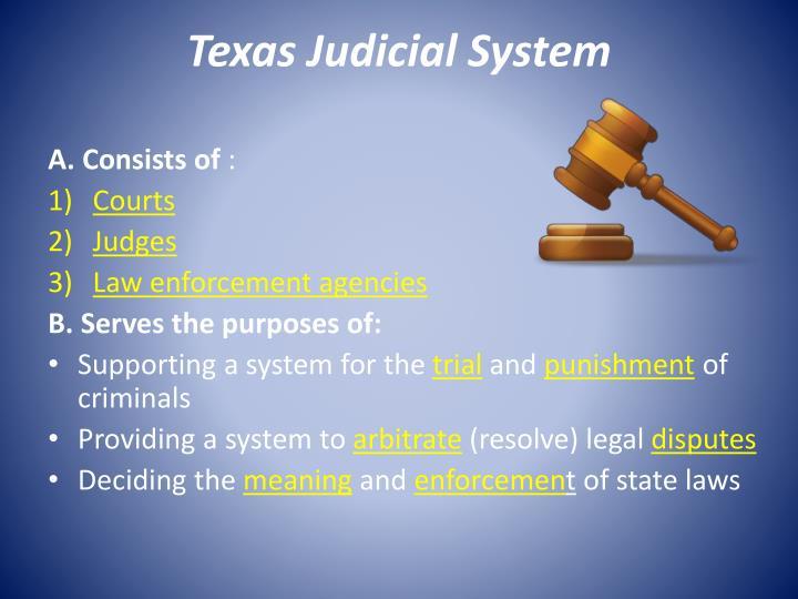 Texas Judicial System