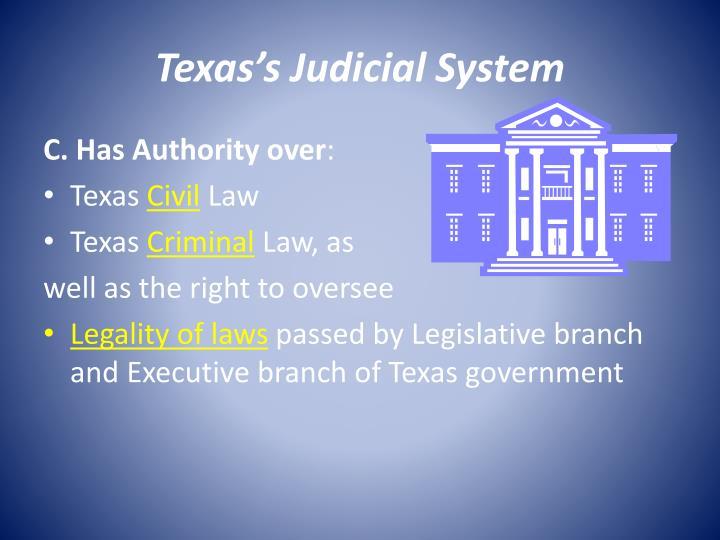 Texas's Judicial System