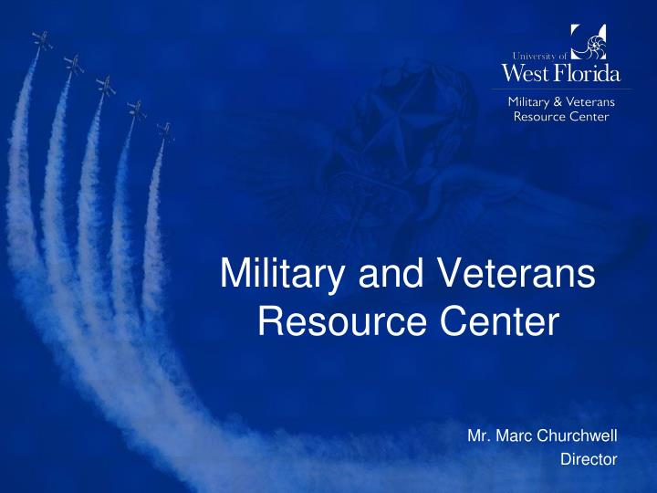 military and veterans resource center