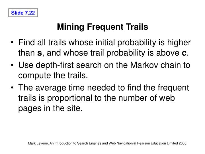 Mining Frequent Trails