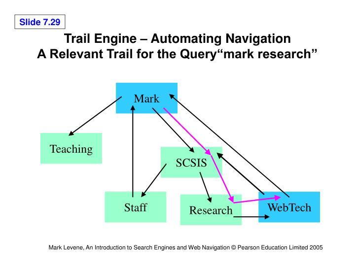 Trail Engine – Automating Navigation