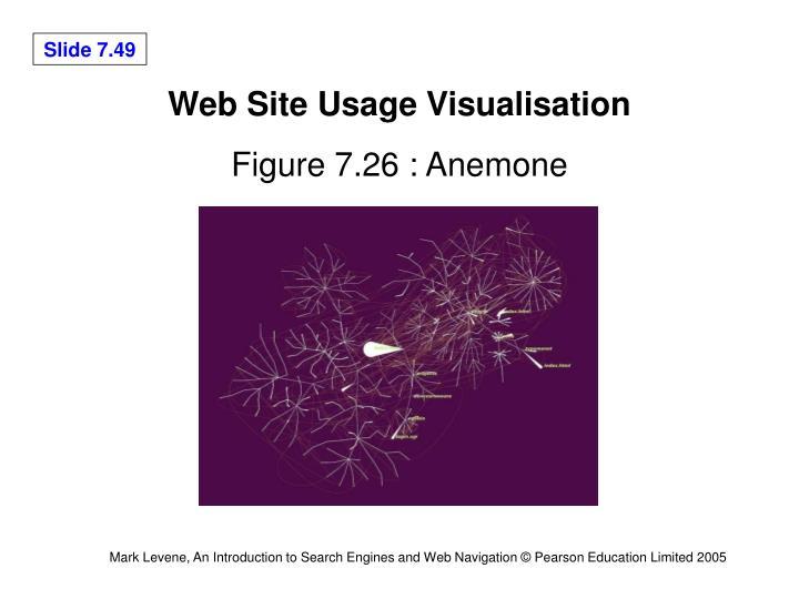 Web Site Usage Visualisation