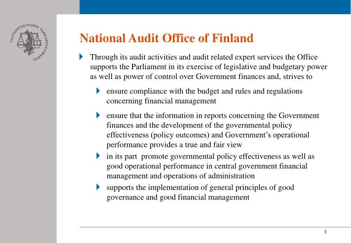 National Audit Office of Finland