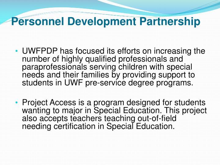 Personnel Development Partnership