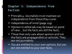 chapter 5 independence from faction3