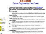 concur fortum engineering plantpower