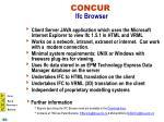 concur ifc browser