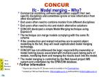concur ifc model merging why