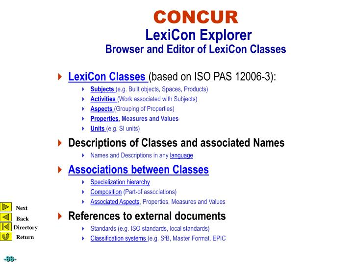 LexiCon Classes