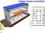 turbine house in archicad
