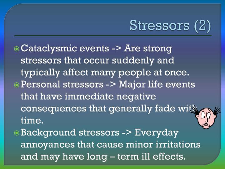 Stressors (2)