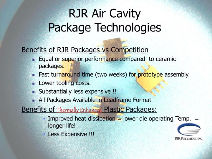 RJR Air Cavity