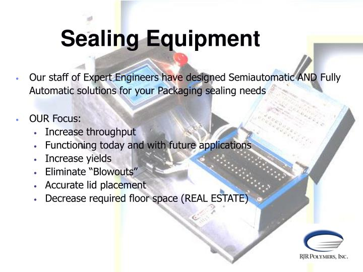 Sealing Equipment