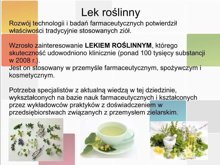 Lek roślinny