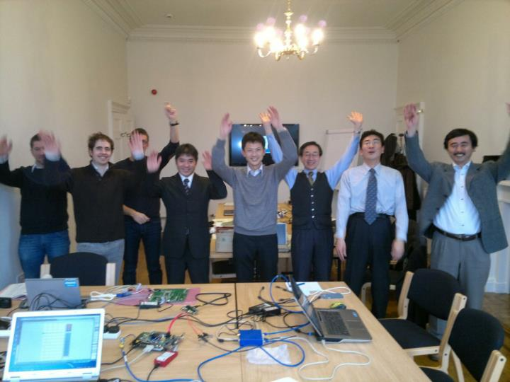 Interoperability testing Dec 2012