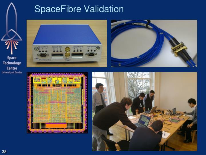SpaceFibre Validation