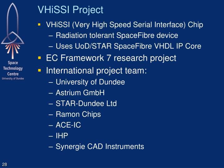 VHiSSI Project