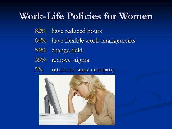 Work-Life Policies for Women