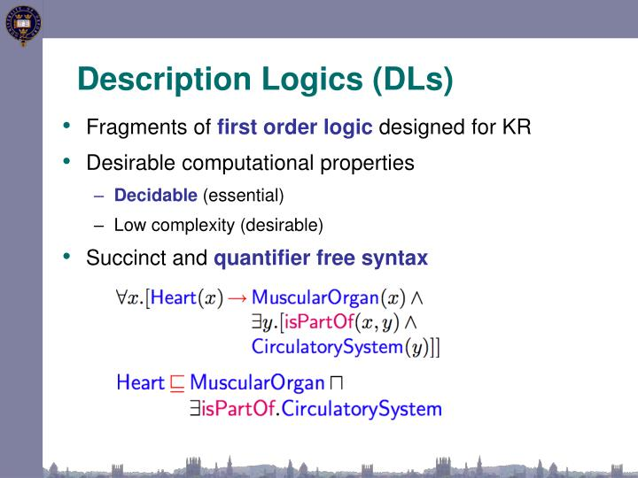 Description Logics (DLs)