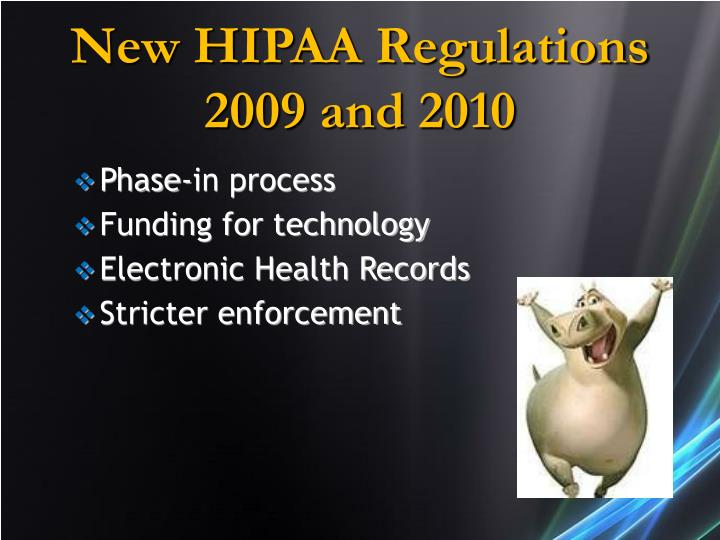 New HIPAA Regulations