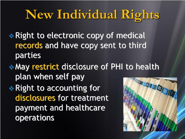 New Individual Rights