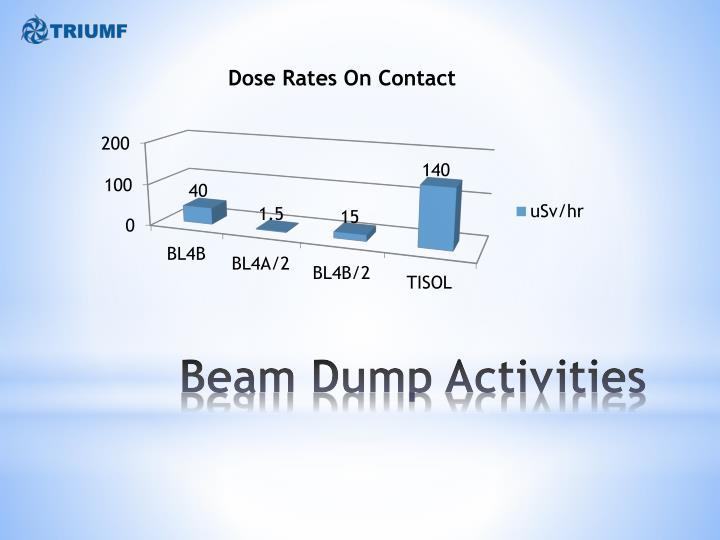 Beam Dump Activities