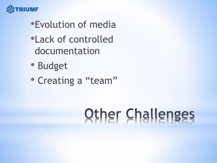 Evolution of media