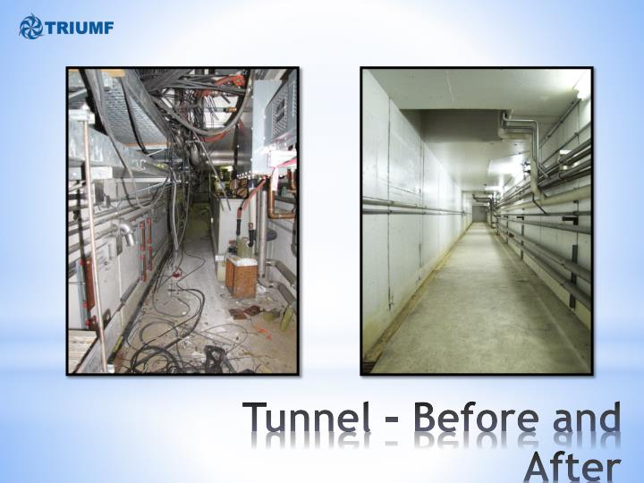 Tunnel – Before and After