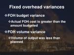 fixed overhead variances2