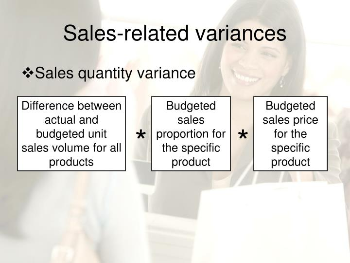 Sales-related variances