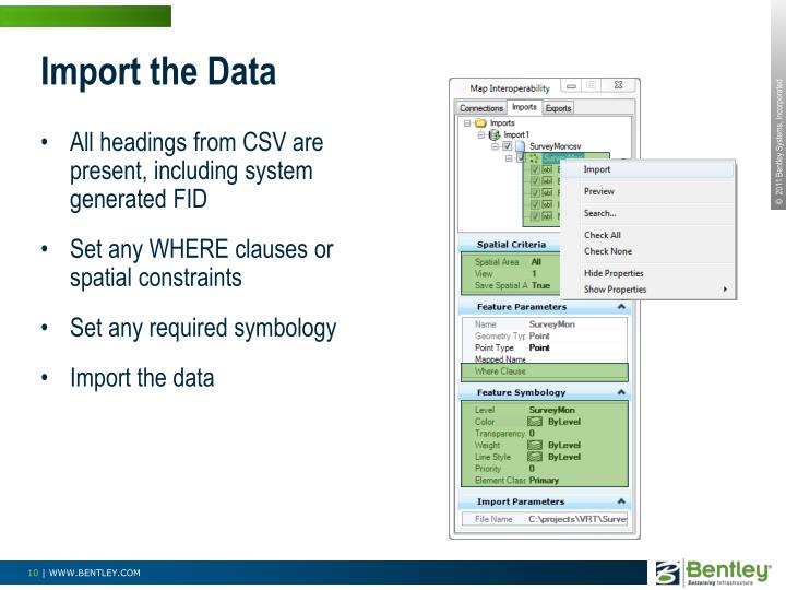 Import the Data