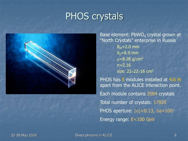 PHOS crystals