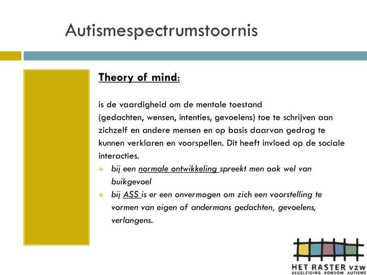 Autismespectrumstoornis