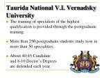 taurida national v i vernadsky university3