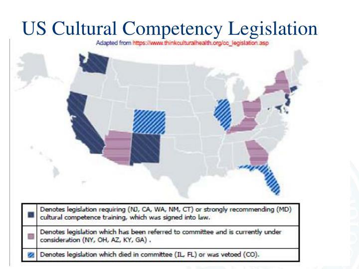 US Cultural Competency Legislation