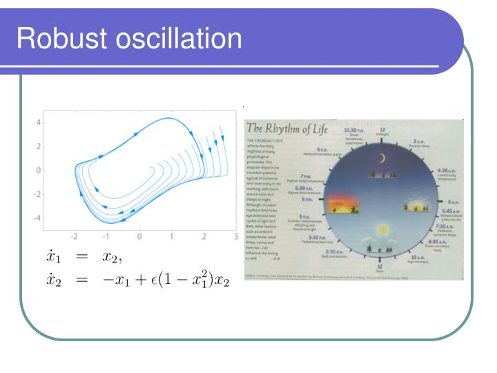 Robust oscillation