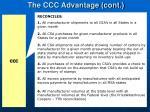 the ccc advantage cont